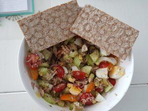 Kaat Krabbelt salade