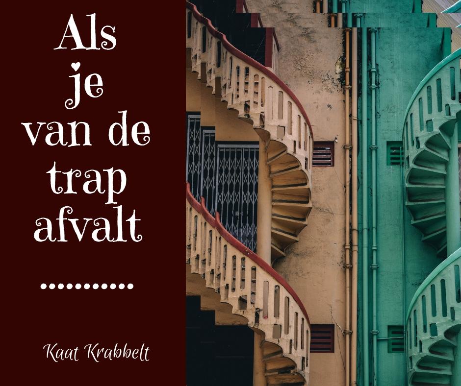 als je van de trap afvalt