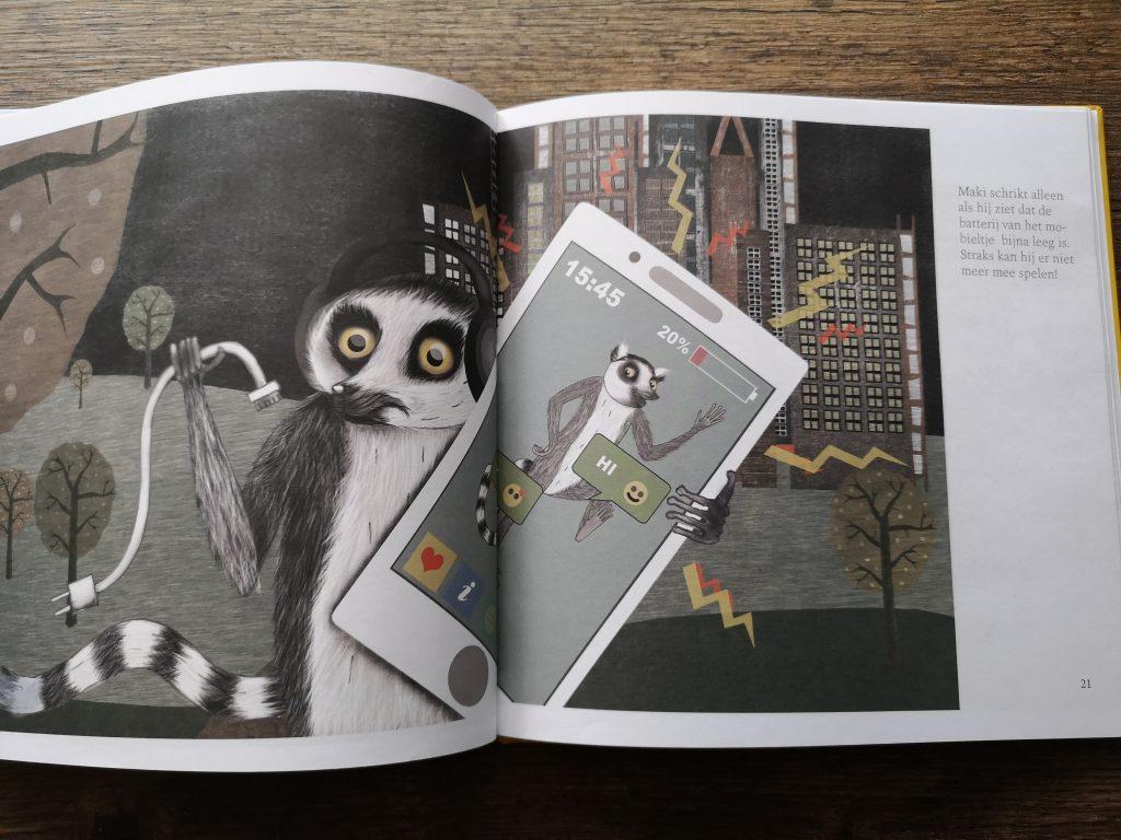 kinderboek mobiel